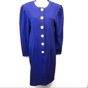 Vintage Benson & Smith Long Sleeve Sweater Dress 6